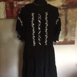 Black dress Free People